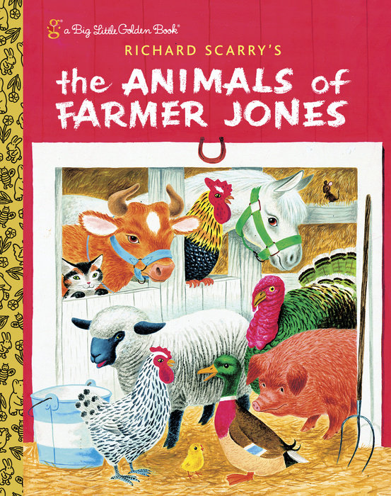 Cover of Richard Scarry\'s The Animals of Farmer Jones