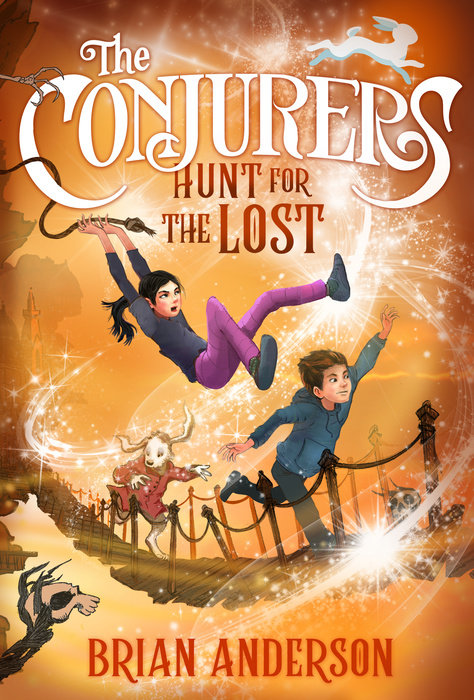 Cover of The Conjurers #2: Hunt for the Lost
