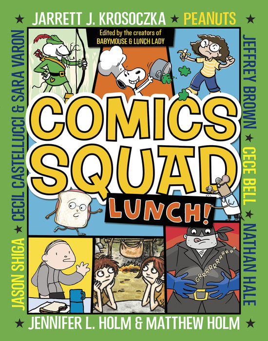 Cover of Comics Squad #2: Lunch!
