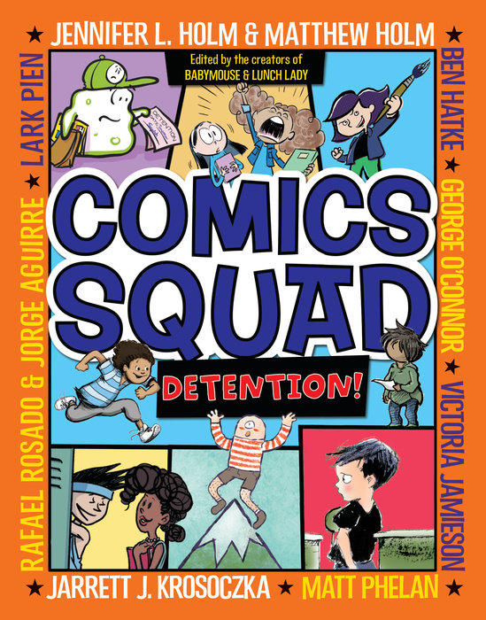 Cover of Comics Squad #3: Detention!