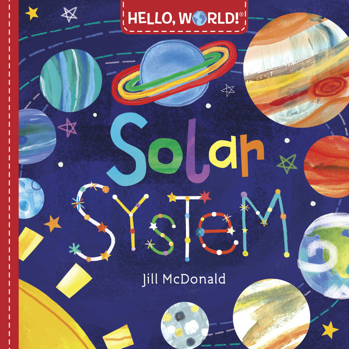 Book cover for Hello, World! Solar System