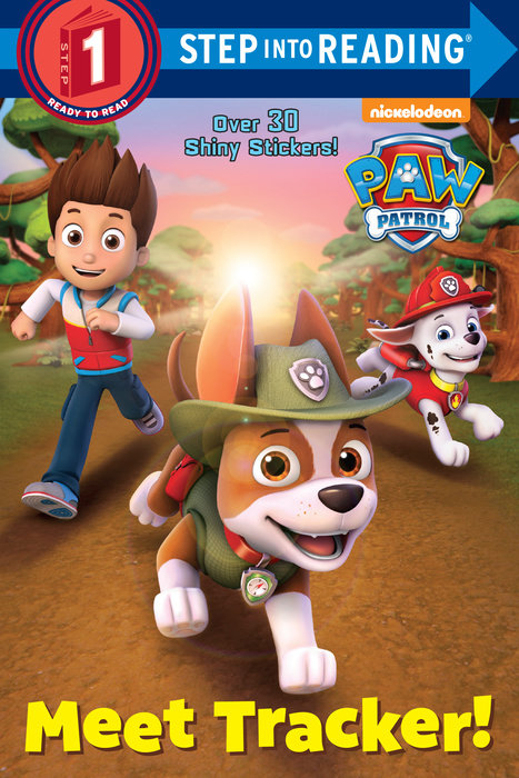 Cover of Meet Tracker! (PAW Patrol)