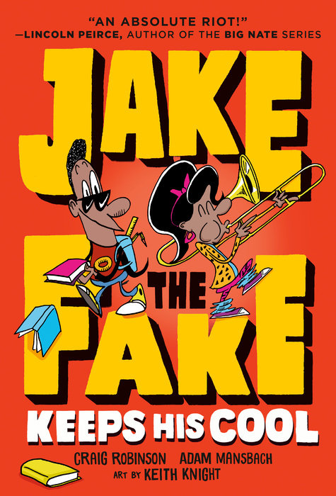 Cover of Jake the Fake Keeps His Cool