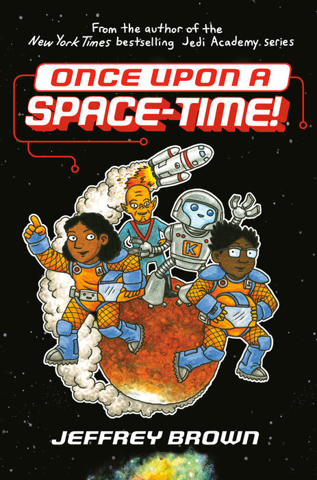 Cover of Once Upon a Space-Time!