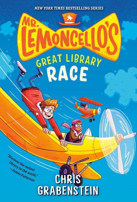 Cover of Mr. Lemoncello\'s Great Library Race