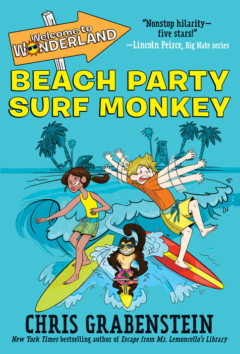 Cover of Welcome to Wonderland #2: Beach Party Surf Monkey