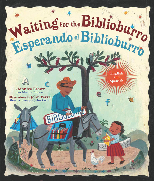 Cover of Waiting for the Biblioburro/Esperando el Biblioburro