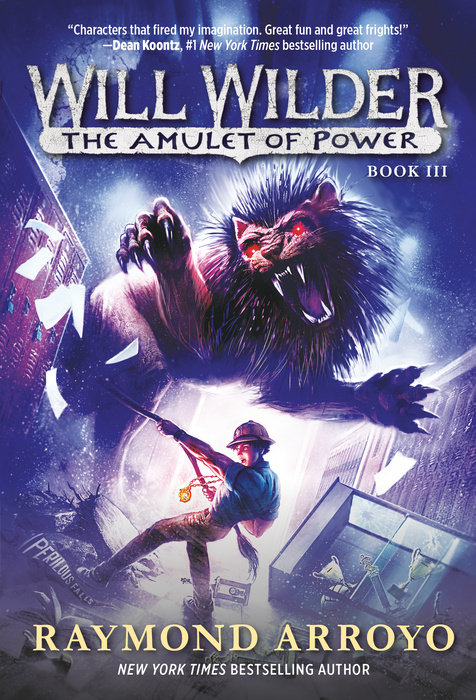 Cover of Will Wilder #3: The Amulet of Power