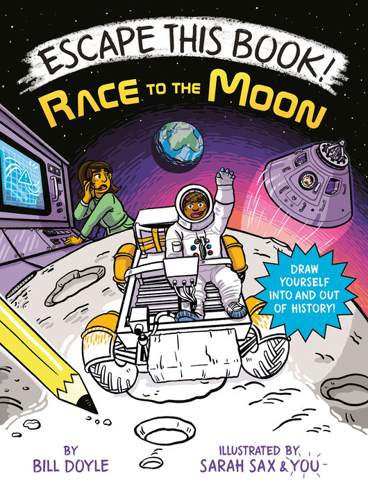 Cover of Escape This Book! Race to the Moon