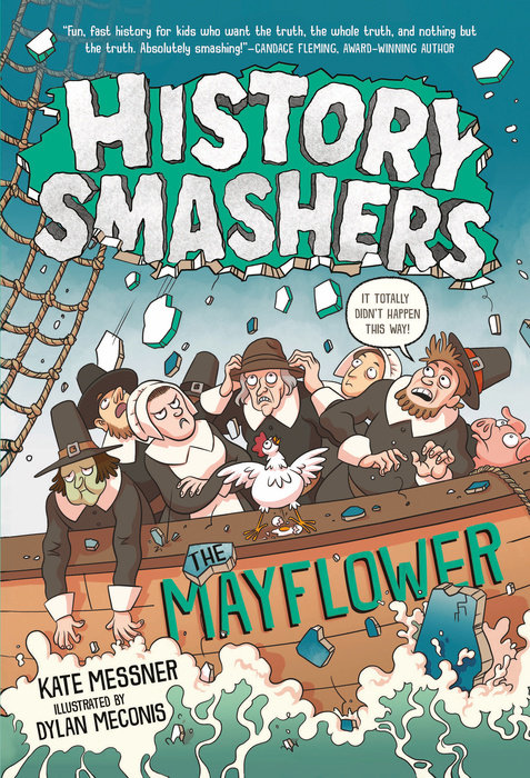 Cover of History Smashers: The Mayflower