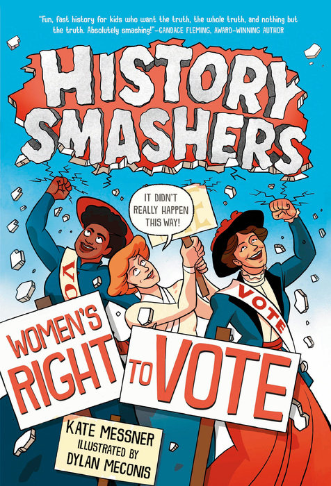 Cover of History Smashers: Women\'s Right to Vote