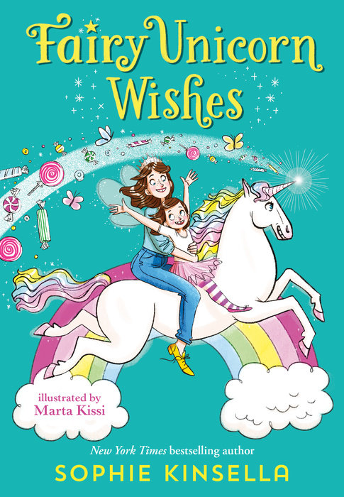 Cover of Fairy Mom and Me #3: Fairy Unicorn Wishes