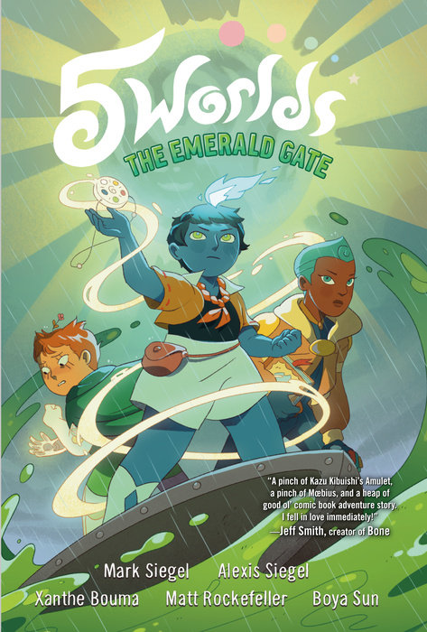 Cover of 5 Worlds Book 5: The Emerald Gate
