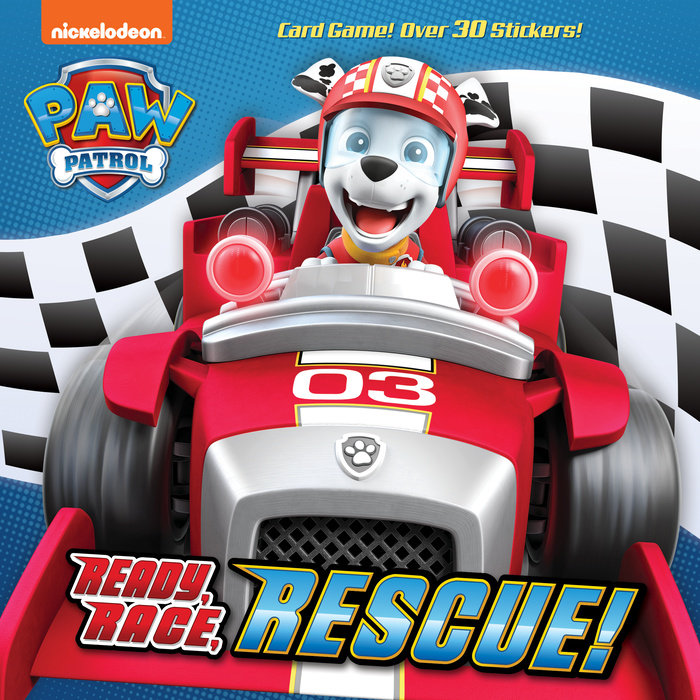 Cover of Ready, Race, Rescue! (PAW Patrol)