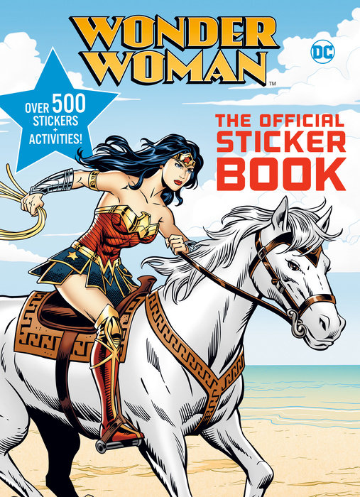 Cover of Wonder Woman: The Official Sticker Book (DC Wonder Woman)