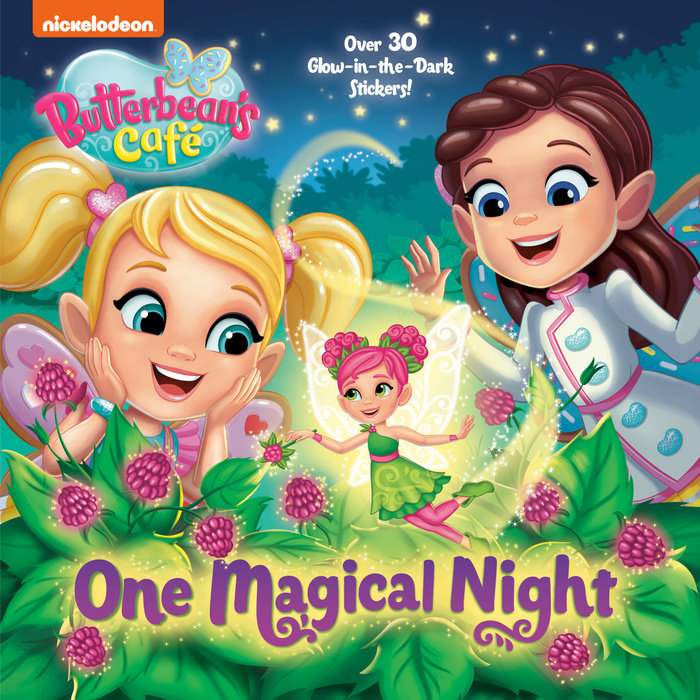 Cover of One Magical Night (Butterbean\'s Cafe)