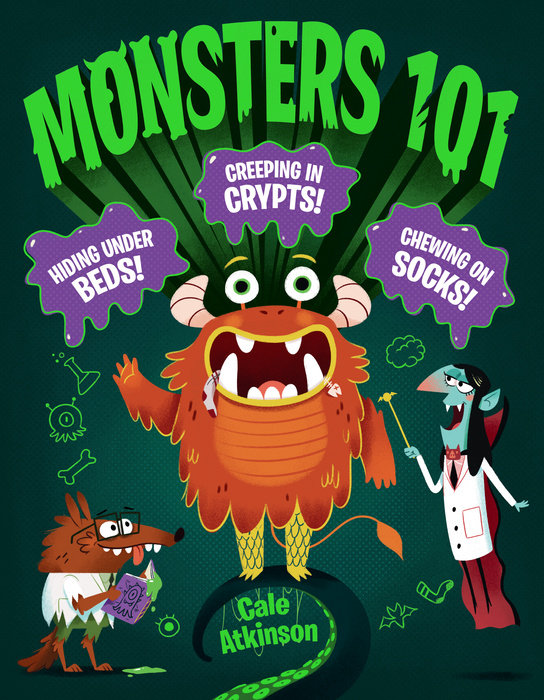 Cover of Monsters 101