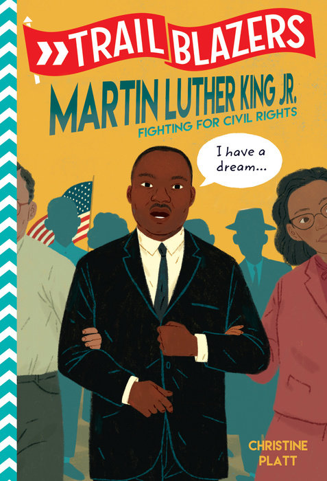 Cover of Trailblazers: Martin Luther King, Jr.