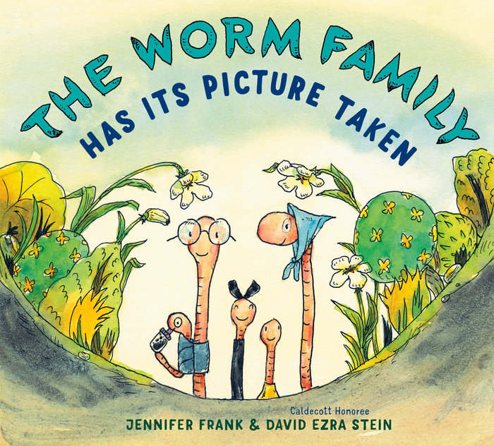 Cover of The Worm Family Has Its Picture Taken