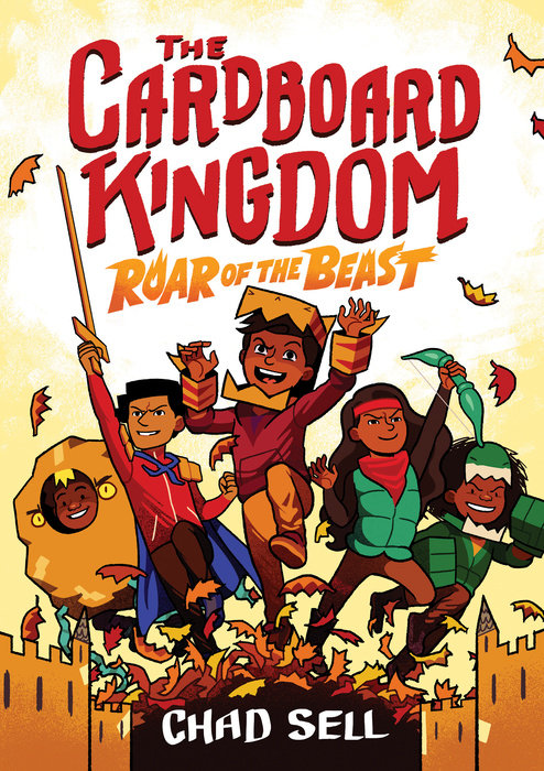 Cover of The Cardboard Kingdom #2: Roar of the Beast