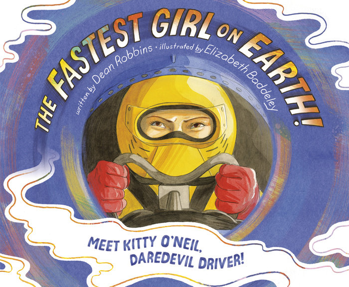 Cover of The Fastest Girl on Earth!