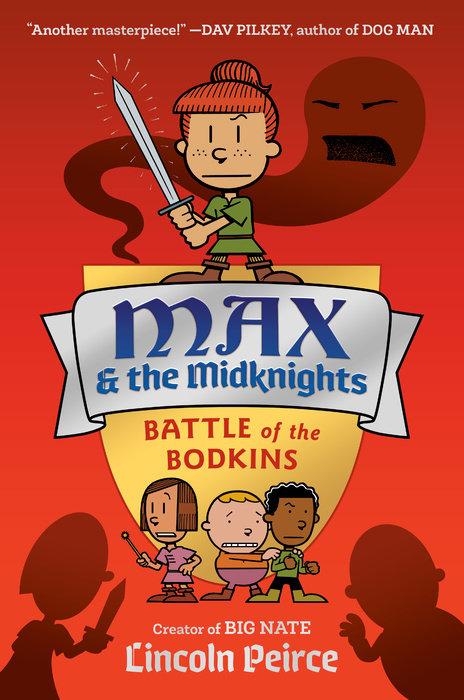Book cover for Max and the Midknights: Battle of the Bodkins