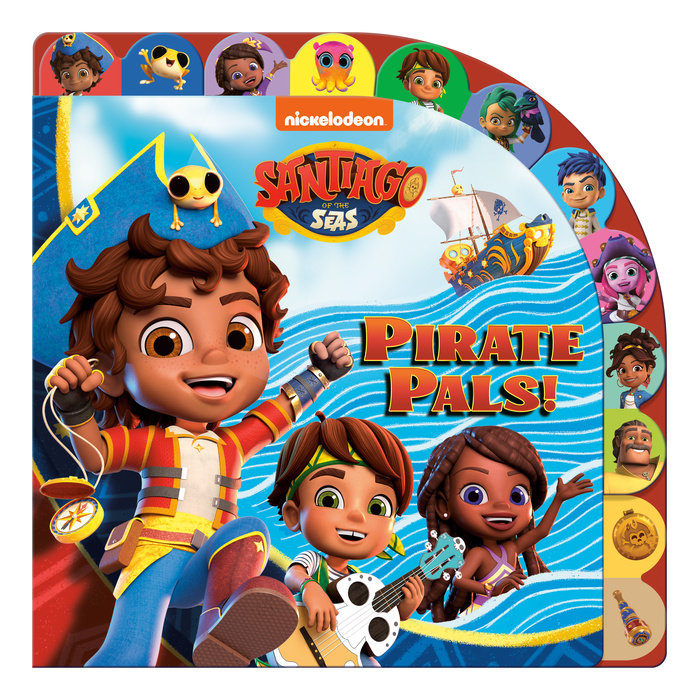 Cover of Pirate Pals! (Santiago of the Seas)