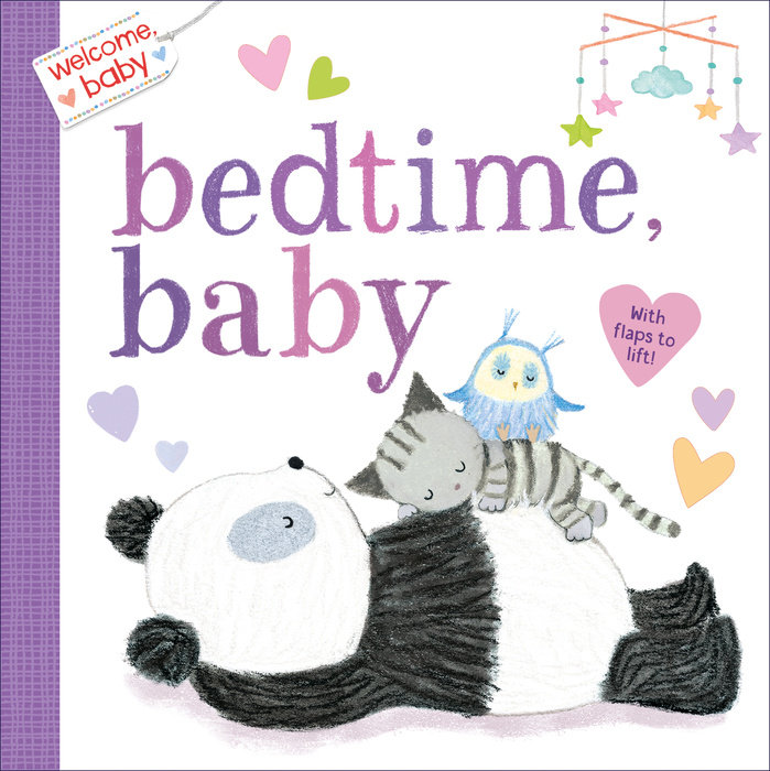 Cover of Welcome, Baby: Bedtime, Baby