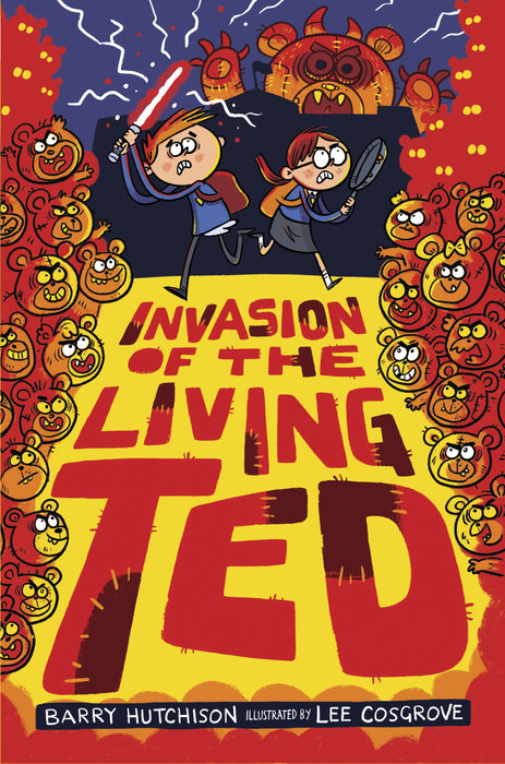 Cover of Invasion of the Living Ted