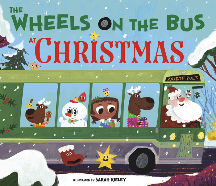 Cover of The Wheels on the Bus at Christmas