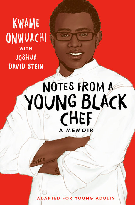 Cover of Notes from a Young Black Chef (Adapted for Young Adults)
