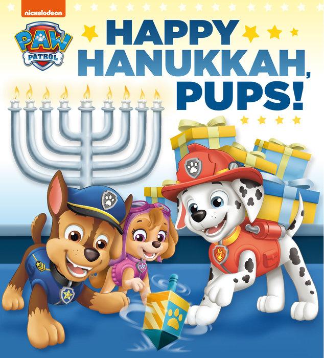 Cover of Happy Hanukkah, Pups! (PAW Patrol)