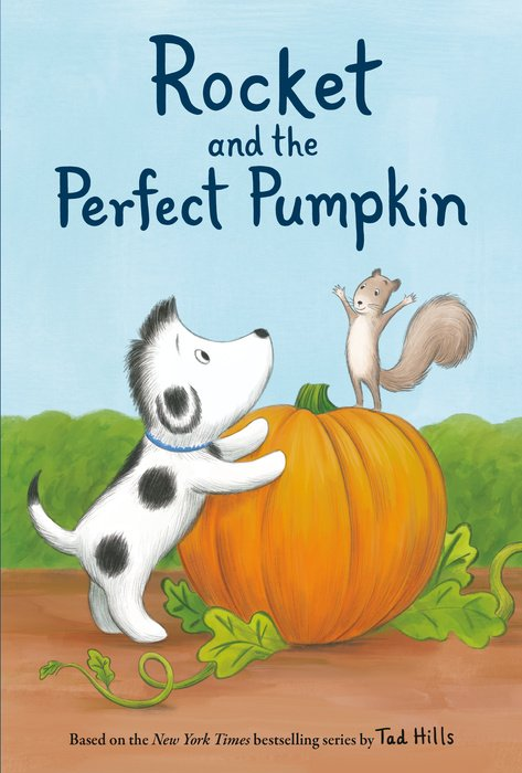 Cover of Rocket and the Perfect Pumpkin