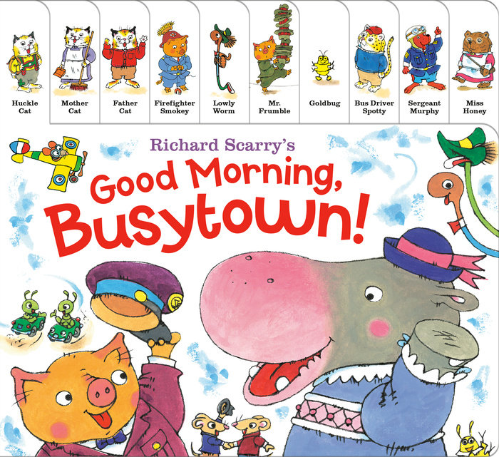 Cover of Richard Scarry\'s Good Morning, Busytown!
