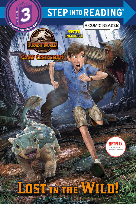 Cover of Lost in the Wild! (Jurassic World: Camp Cretaceous)