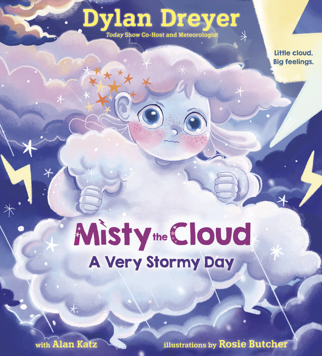 Cover of Misty the Cloud: A Very Stormy Day