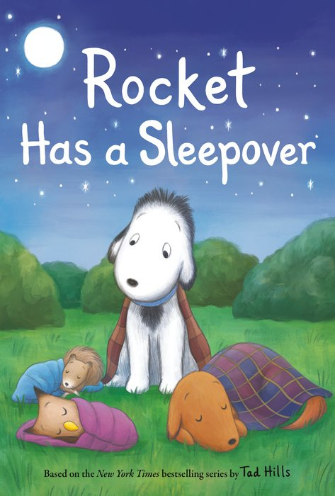 Cover of Rocket Has a Sleepover