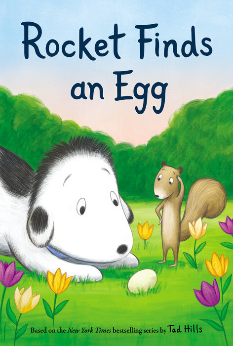 Cover of Rocket Finds an Egg
