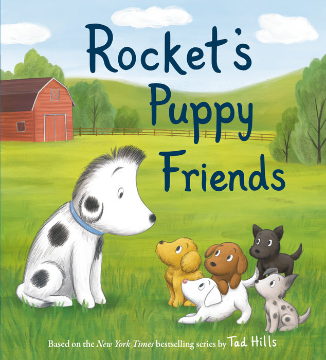 Cover of Rocket\'s Puppy Friends
