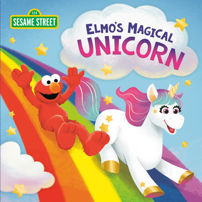 Cover of Elmo\'s Magical Unicorn (Sesame Street)