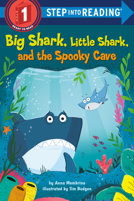 Cover of Big Shark, Little Shark, and the Spooky Cave