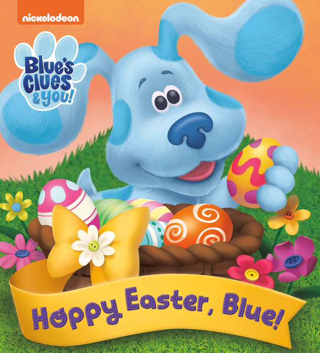 Cover of Hoppy Easter, Blue! (Blue\'s Clues & You)