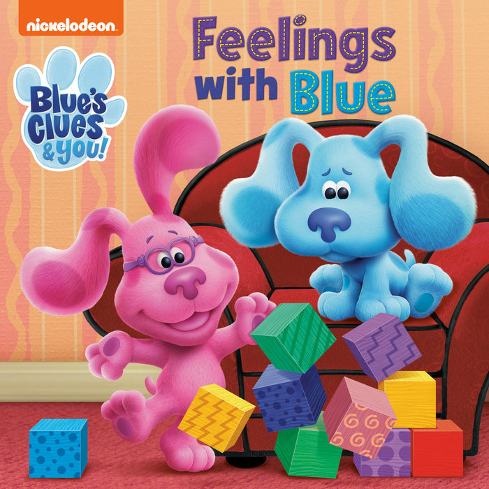 Cover of Feelings with Blue (Blue\'s Clues & You)