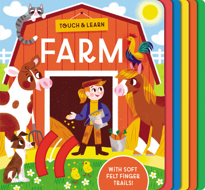Cover of Touch & Learn: Farm