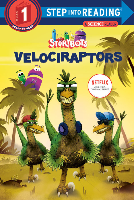 Cover of Velociraptors (StoryBots)