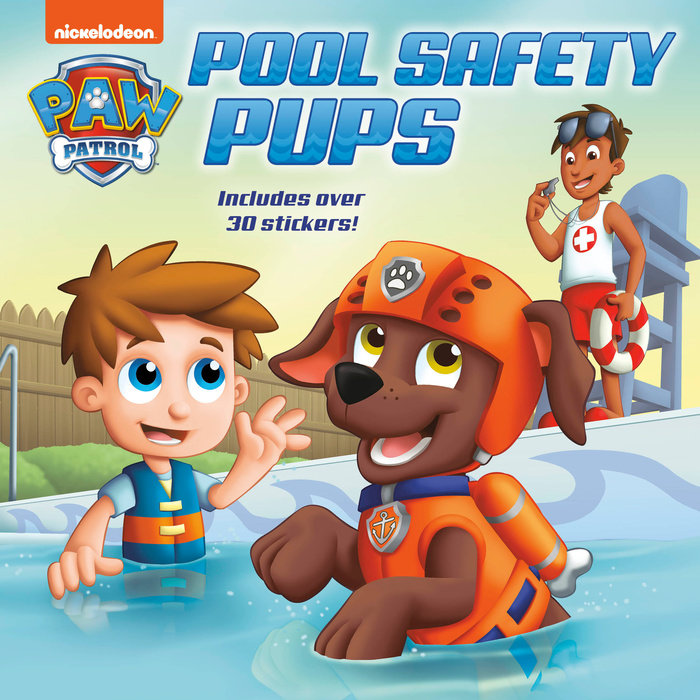 Cover of Pool Safety Pups (PAW Patrol)