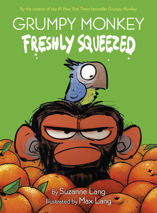 Cover of Grumpy Monkey Freshly Squeezed