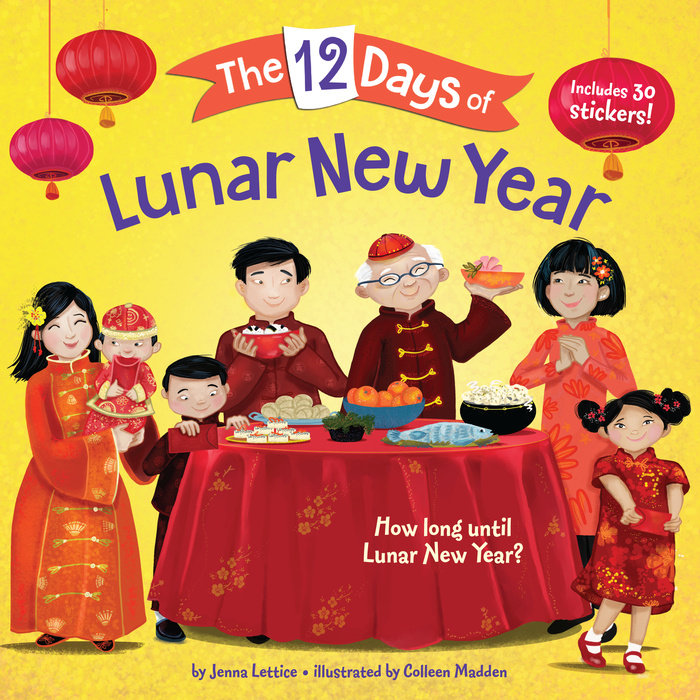 Cover of The 12 Days of Lunar New Year