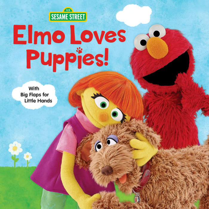 Cover of Elmo Loves Puppies! (Sesame Street)