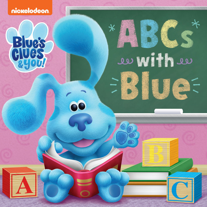 Cover of ABCs with Blue (Blue\'s Clues & You)